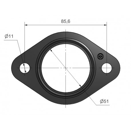 Multi layes steel gasket