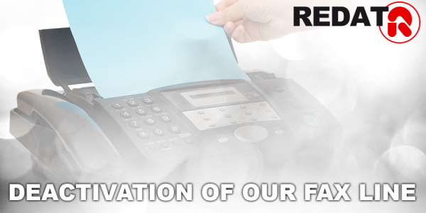 Deactivation of our Fax line!