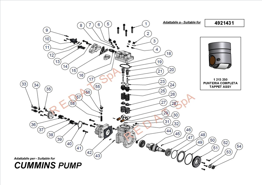 CUMMINS PUMP